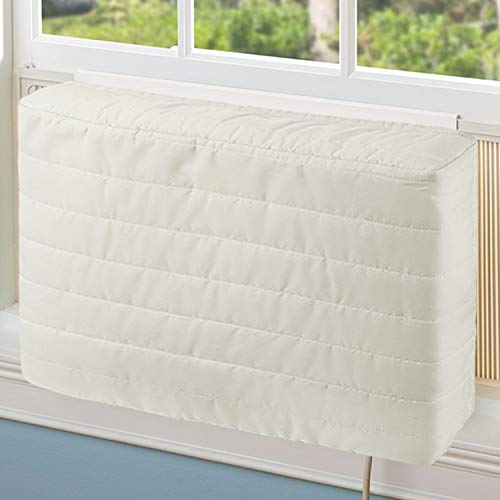 COSFLY Indoor Air Conditioner Cover AC Unit Covers for Inside 25 x 16 x 3 inches (L x H x D)