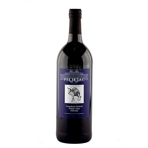 Badel 1862 Peljesac Rotwein halbtrocken Badel 1.0l kvalitetno vino