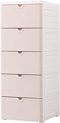 Amazon.com: Pemberly Row Modern Sturdy 5 Drawer Tall Narrow ...
