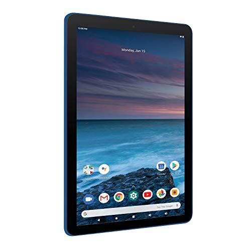 """RCA Pro 2 11.6"""" 128GB HD Tablet with Keyboard, Sleeve and Earbuds (Classic Blue)"""