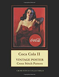 Coca Cola II: Vintage Poster Cross Stitch Pattern