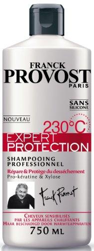 Franck Provost Expert Protection 230°C Professionelles Shampoo für empfindliche Haare, 750 ml