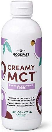 Simply GOODFats Simply Goodfats Creamy Mct Vanilla Coconut Swirl 16 Fluid Ounce product image