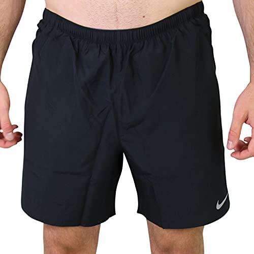 Nike CZ9060 M NK DF Challenger Short 72IN1 Pantaloncini Uomo Black/Reflective Silv M