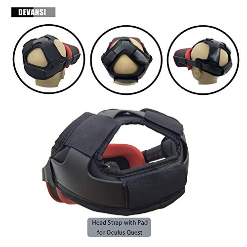 Cheap Head Strap Pad & Headband Gravity Pressure Reducing Head Pad Cushion for Oculus Quest Headset ...