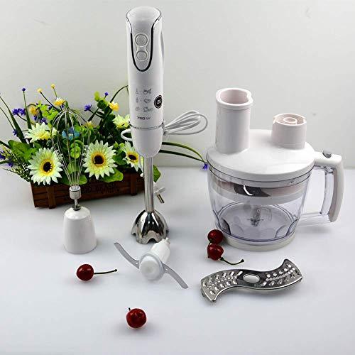 Powerful Premium Blender - Hand Blender Stick,Whisk and Food Processor, Mini Chopper, Blending Beaker, Stainless Steel, BPA Free