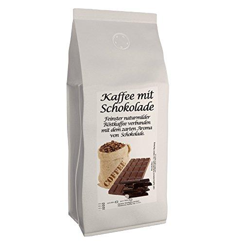 Aromakaffee - Aromatisierter Kaffee - Schokolade 500g - Spitzenkaffee - Schonend Und Frisch In Eigener Rösterei Geröstet