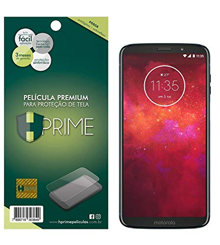 Pelicula Fosca para Motorola Moto Z3 Play, HPrime, Película Protetora de Tela para Celular, Transparente