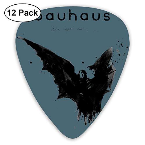 Bauhaus Bela Lugosi 'Dead Guitar Picks (12er Pack) für E-Gitarre, Akustikgitarre