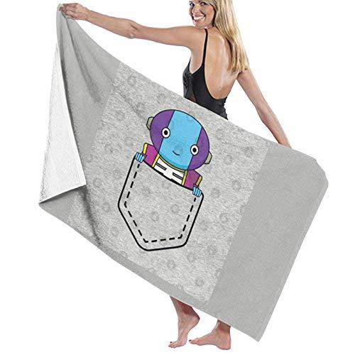 U/K Grand Zeno - Toalla de baño Omni King Dragonball Super Pocket Bag Toalla de baño de secado rápido