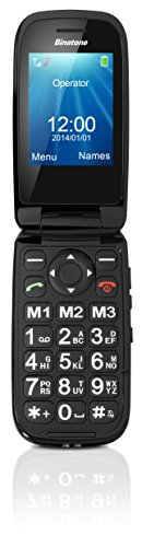 Binatone Big Button Clamshell GSM Phone with 2.4 Inch Colour...