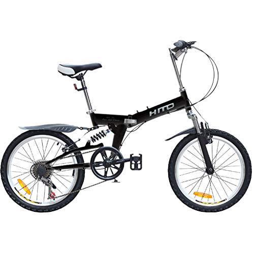 Review Of Joysale Lightweight Folding Bike for Adults Students, 20 Inch Mini Folding Bike with V Bra...
