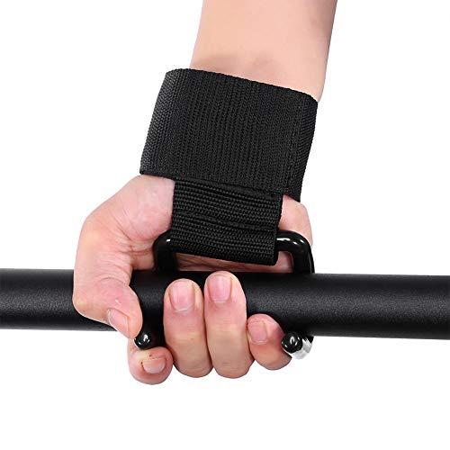 Gimnasio con correas ajustables duraderas para levantamiento de pesas, accesorio de entrenamiento