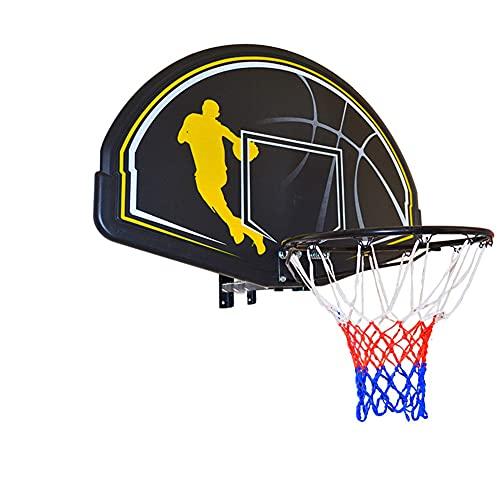MHCYKJ Tablero Baloncesto Exterior Profesional De Aro Montado En La Pared Mini Sistema Interior para Oficina Y Casa con Bomba Aire Juego Al Libre