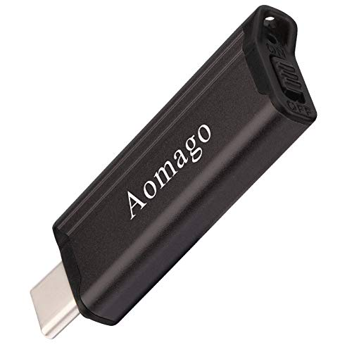 Aomago A21 16GB Digital Voice Recorder - Minimalism USB C Recorder for Lectures Meetings