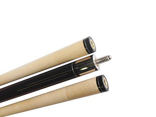 Marke New SCHWARZ Aska (begriffsklärung) Pool Queue Stick, 147,3cm Hard Rock Kanadisches Ahornholz, 13mm Le Pro Tip, 19oz. Perfekte Qualität. verbessern Sie Ihre Spiel, 5/16x14 Joint