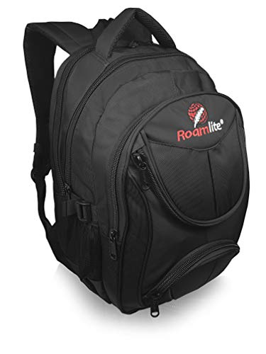 Roamlite Laptop Backpack Bag, Casual Day-Pack for Business and Hand Luggage Travel, Padded Back and Multiple Pockets 44cm x30cmx17cm 25 Litre RL29K