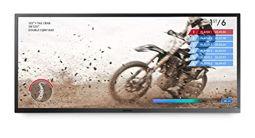 SAMSUNG 34-Inch SJ55W Ultrawide Gaming Monitor (LS34J550WQNXZA) – 75Hz Refresh, WQHD Computer Monitor, 3440 x 1440p Resolution, 4ms Response, FreeSync, Split Screen, HDMI, Black
