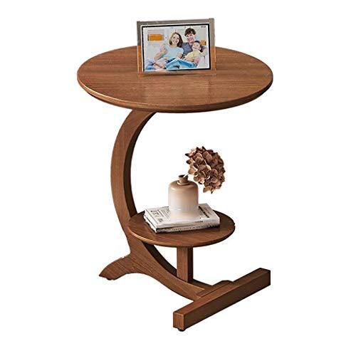 SH-tables Mesa De Centro, Mesa Lateral De Madera Maciza, Mesa De Esquina Pequeña, Mesa, Mesa De Estudio, para Hogar, Dormitorio (Color : C)