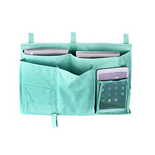 Bed Tidy,Bedside Caddy,Bedroom Pocket Dorm Room Bedside Storage Book TV Remote iPad iPhone Mobile Bunk Bed Caddy Organizer Sofa Bed Pockets Tidy Hanging Unit Bag Organiser Pockets for Cabin Beds