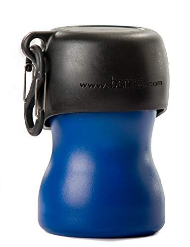 H2O4K9 Stainless Steel K9 Water Bottle (9.5oz, Matte Blue)