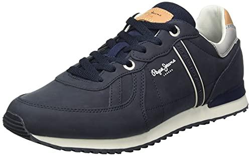 Pepe Jeans London Herren Tinker Road Sneaker, 595NAVY, 41 EU