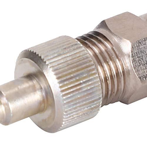 Cosiki Adaptador de Manguera de aerógrafo, acoplador de aerógrafo, Adaptador de compresor de Aire para compresor de Aire doméstico