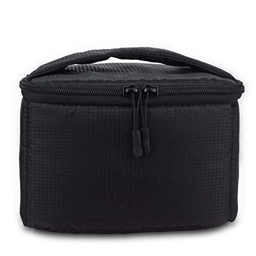 Bolsa de transporte acolchada para cámara, bolsa de almacenamiento de viaje, organizador para portátil y bolsas de hombro