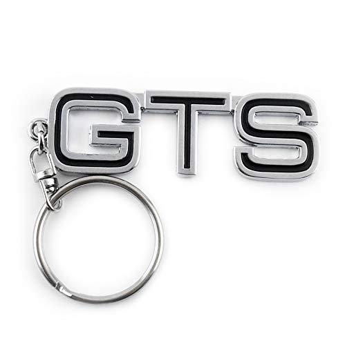 Rhinotuning 1x GTS Schlüsselanhänger Schlüsselbund Metall Silber