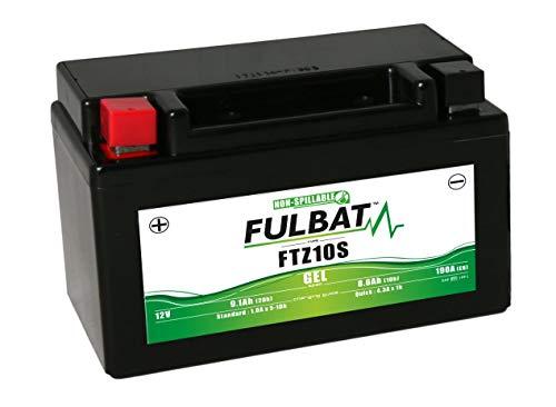 FULBAT - Batteria per moto FULBAT Gel FTZ10S/YTZ10S 12V 9,1Ah 190A