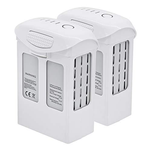 2 Pack ExpertPower High Capacity (15.2V 5870mAh) Intelligent Flight Replacement Battery for DJI Phantom 4 Series Drones| DJI Phantom 4, Phantom 4 Pro, Phantom 4 Pro V2.0, Phantom 4 Advanced