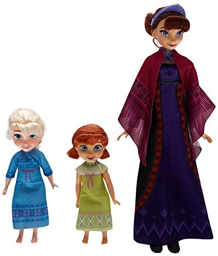 Hasbro Disney Frozen 2 Reina de Hielo con Las muñecas Elsa y Anna la Reina de Hielo...
