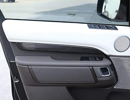 GJJSZ Echte Kohlefaser Aramid Faser Auto Innentür Dekoration Schutz Abdeckung Verkleidung