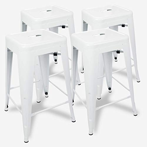 UrbanMod 24 Inch Bar Stools for Kitchen Counter Height,...