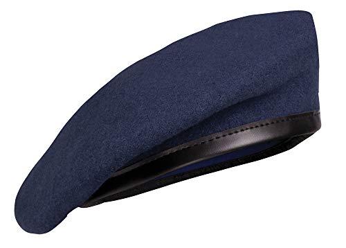 Französisches Commando Barett, Marine blau, Gr. 59