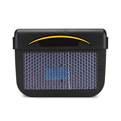 WPFC Mini Aire Acondicionado Solar para Coche, Ventilador Automático De Ventilación De Aire para Ventana De Coche, Ventilación Portátil De Aire Acondicionado para Coche