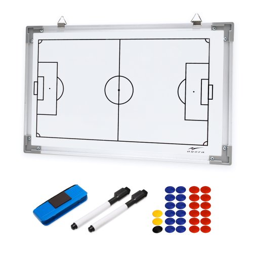"AGORA Dual Sided Magnetic Dry Erase Board - 12""x18"""