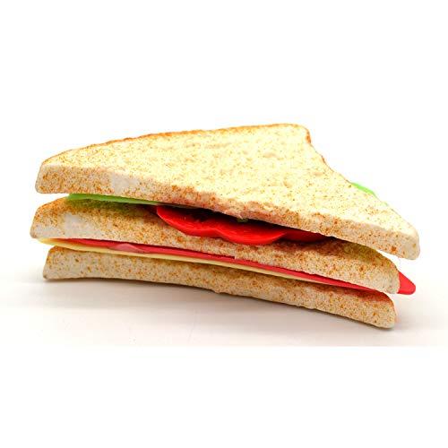 Clubsandwich - Decoración falsa de pan ocupado, idea de regalo para restaurantes, panadería, plástico