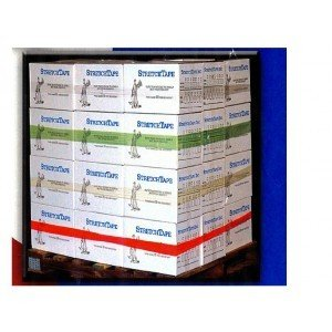 Best Price Cornerstone 4 x 48 Poly Pallet Band for Box Wrapping Packaging & Shipping - 4 Pack