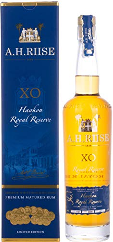 A.H. Riise X.O. HAAKON ROYAL RESERVE Superior Spirit Drink 42% - 700 ml in Giftbox