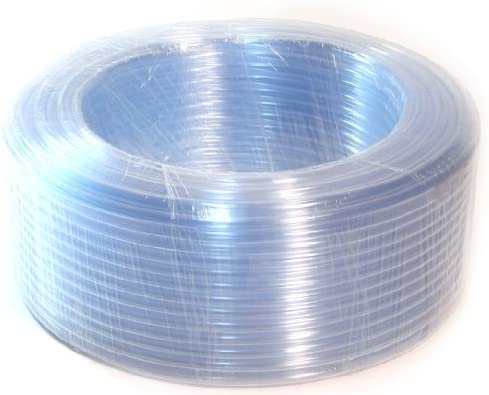 1 4 ID 50 Ft 15 Meter PVC Clear Vinyl Tubing Flexible Air Vacuum Aquarium Hose product image