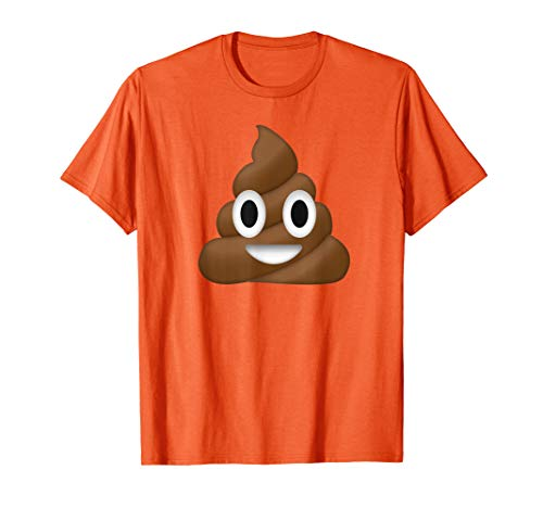 Poop Emoji Costume Funny Halloween T-Shirt