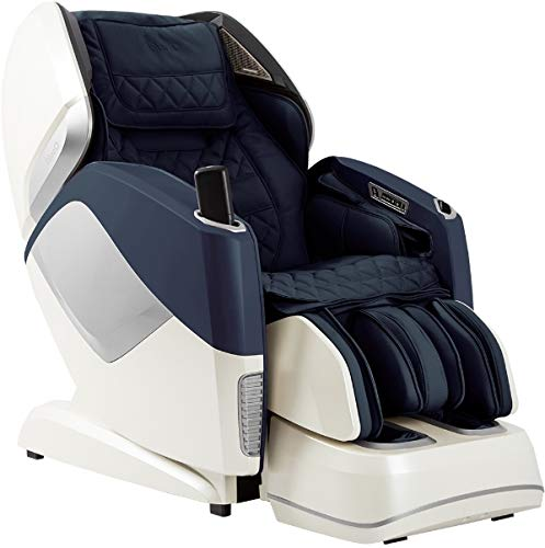 OSAKI OS-PRO MAESTRO Electric Full Body 4D Massage Chair, Heated back roller, SL Track Roller Design, Foot & Calf Kneading Massage, Bluetooth Connection for HD Speaker, Backrest Scanning (Navy)