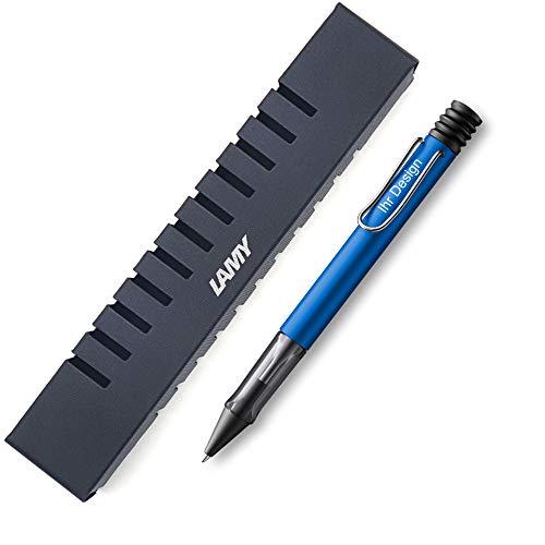 Lamy AL-star oceanblue Kugelschreiber Modell 228, mit Gravur (Lasergravur), V60