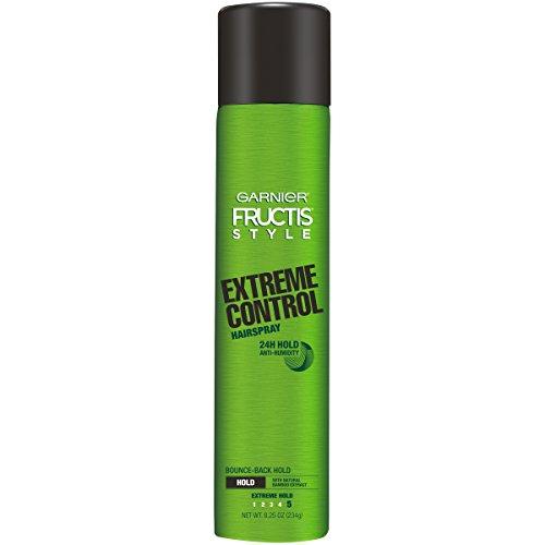 Garnier Fructis Style Extreme Control Anti-Humidity Hairspray, Extreme Hold, 8.25 oz.