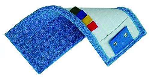 Frange professionnelle 400 x 170 mm 100% polyester pour lavage à plat