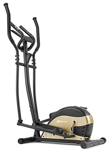 HS HOP-SPORT Vélo elliptique HS-003C Focus Ergomètre Nordic Walking Doré   Poids Max 120 kg   Ordinateur