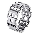 Multi Tool Armband, 29 Funktionen Edelstahl Multifunktions Armband Travel Friendly Wearable...