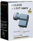 Diprogress LNB dCSS 2 Uscita Legacy convertitore 16UB