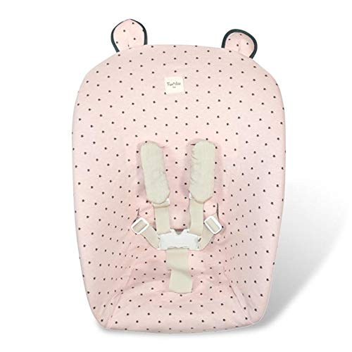 Fundas BCN® - F130 - Bezug für Stokke Newborn Set Tripp Trapp®. Little Fun Peach.